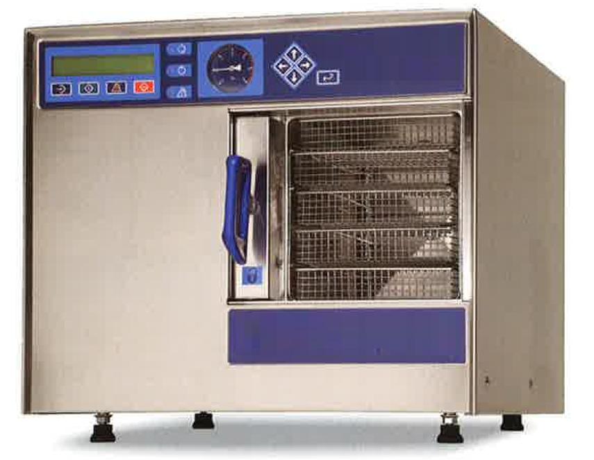 プレ・ポストバキューム方式高圧蒸気減菌器